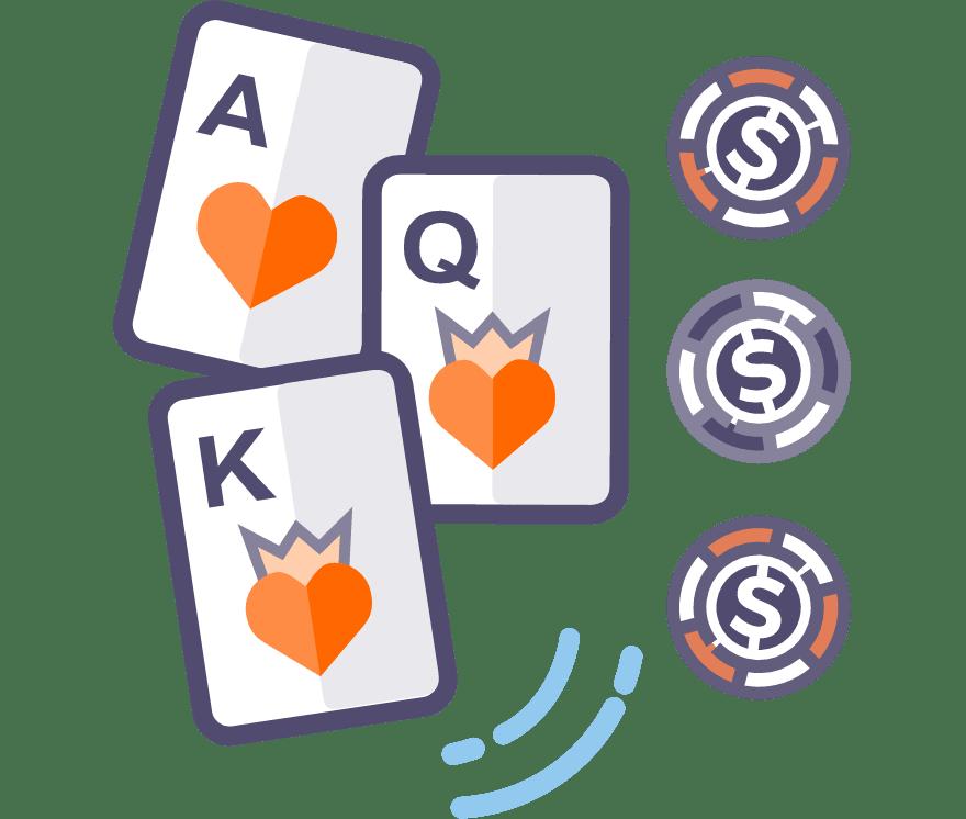 Spēlējiet Live Three Card Poker