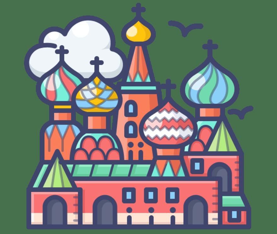 Labākie 72 Live Casinos Rusija 2021