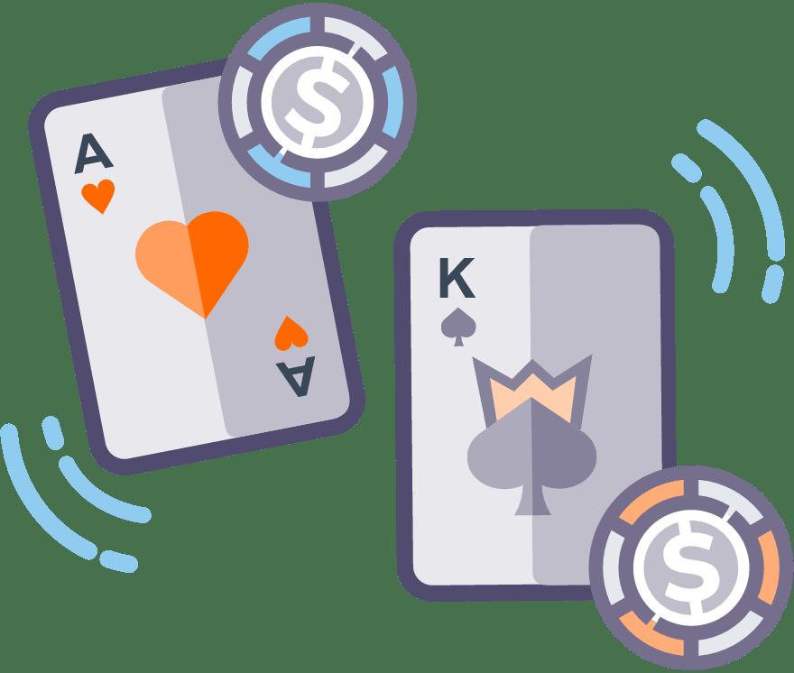 Spēlēt Kazino karš Tiešsaistes -Top 5 Lielākie Laimesti Live Casinos 2021